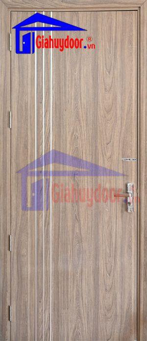 Cửa gỗ công nghiệp MDF VENEER MDF.VP1R3N-ME-23029
