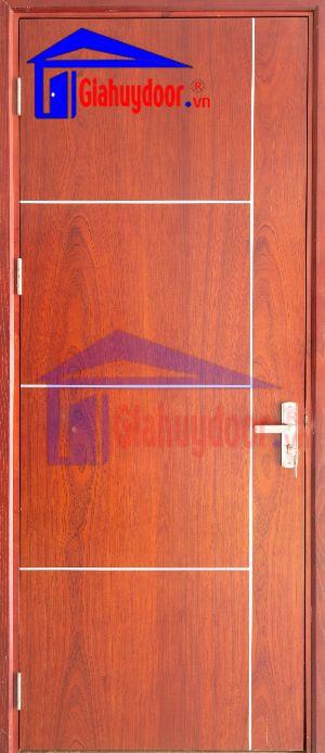 Cửa gỗ công nghiệp MDF VENEER  MDF.VP1R4-SAPELE