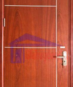 Cửa gỗ công nghiệp MDF VENEER MDF.VP1R4b-Sapele
