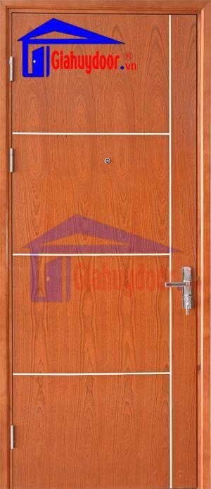 Cửa gỗ công nghiệp MDF VENEER MDF.VP1R4b-Xoandao