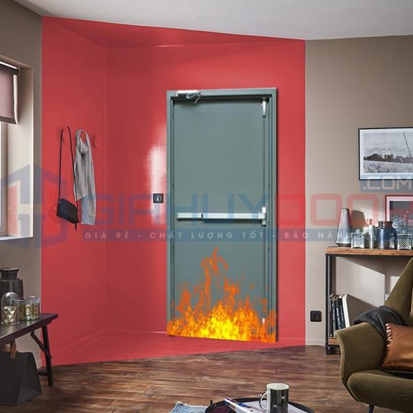 Lưu ý khi sử dụng cửa thoát hiểm chống cháy