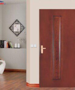 Cửa gỗ công nghiệp HDF GHD 1A-C13 giahuydoor 0886.500.500