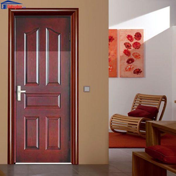 Cửa gỗ công nghiệp HDF GHD 5A-C12 - GIAHUYDOOR 0886.500.500