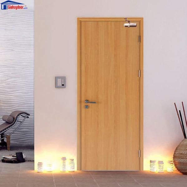 Cửa gỗ chống cháy GHD GCC-P1 giahuydoor 0886.500.500