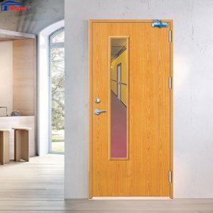 Cửa gỗ chống cháy gia huy door GHD GCC-P1GL 0886.500.500