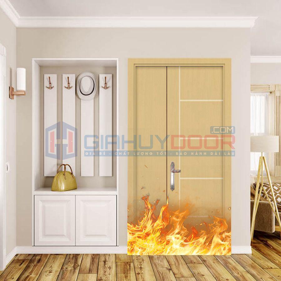 Báo giá cửa thoát hiểm bằng gỗ