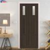 Cửa nhựa gỗ ghép thanh GHD NG-C23