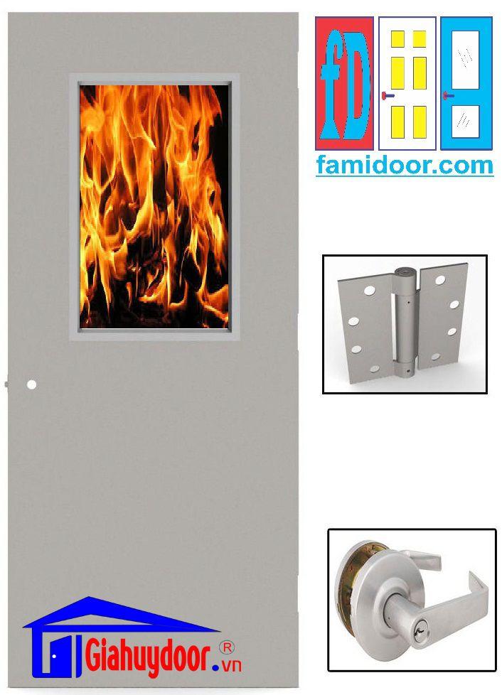 Cửa thép chống cháy tại hồ chí minh