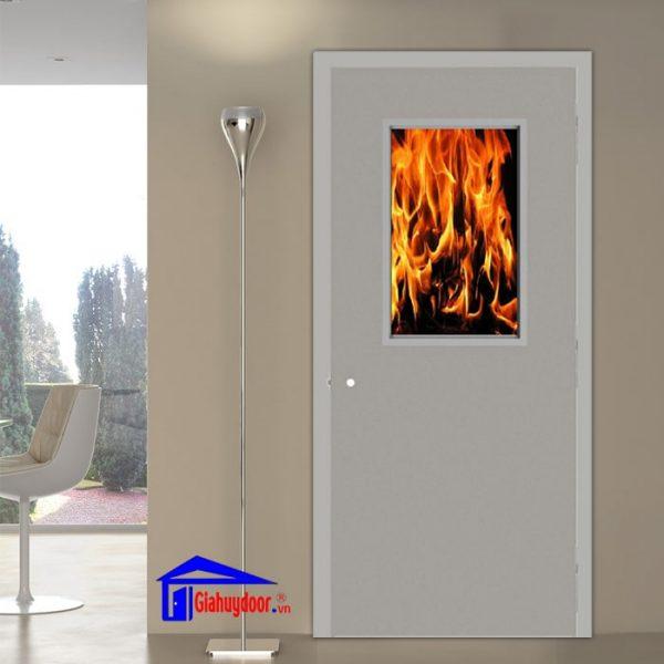 Cửa thép chống cháy GHD TCC P1-GL