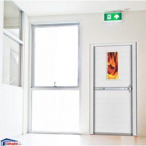 Cửa Thép Chống cháy TCC-P1G1b giahuydoor 0886.500.500
