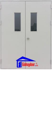 Cửa thép chống cháy GHD TCC-P3G2