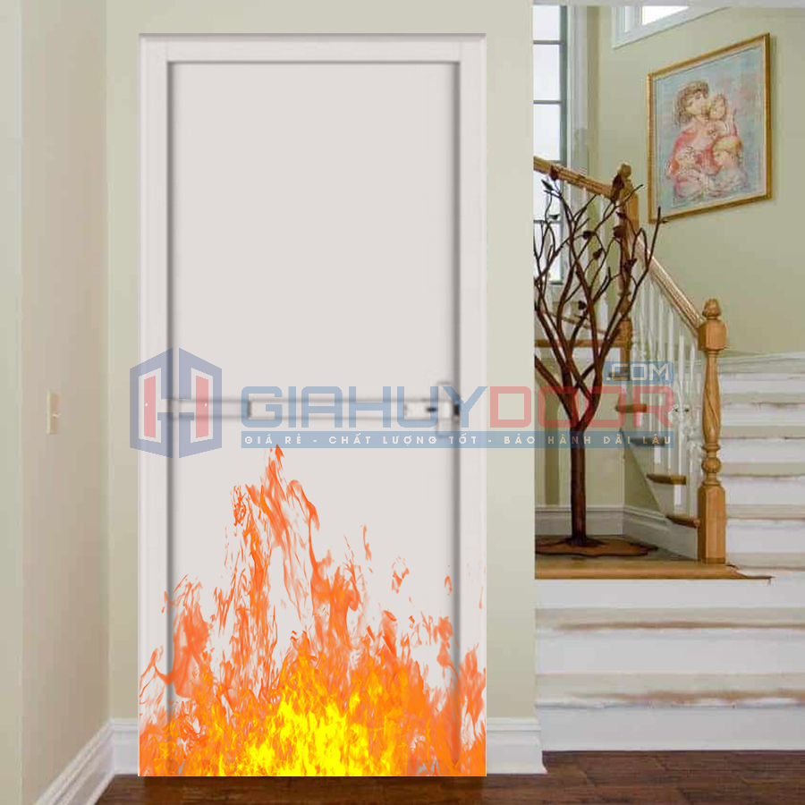 Mẫu cửa chống cháy cầu thang 02