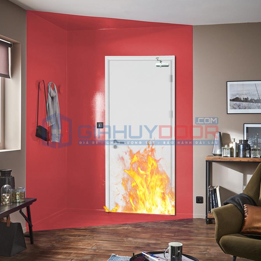 Mẫu cửa chống cháy 03