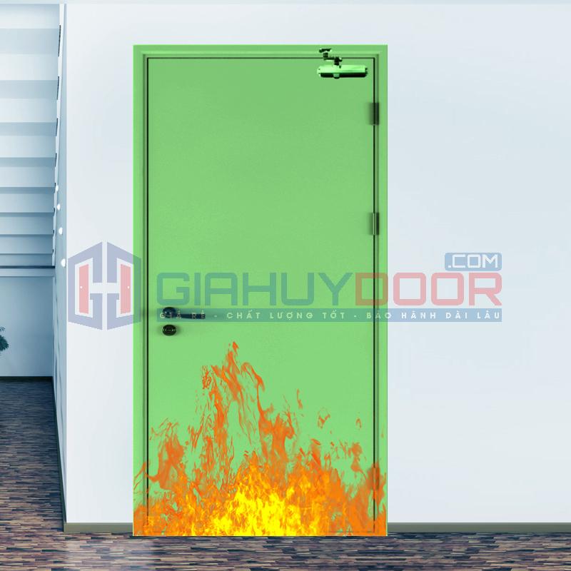 Cửa chống cháy mẫu mã đa dạng