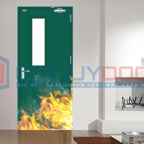 Cửa thép chống cháy ô kinh