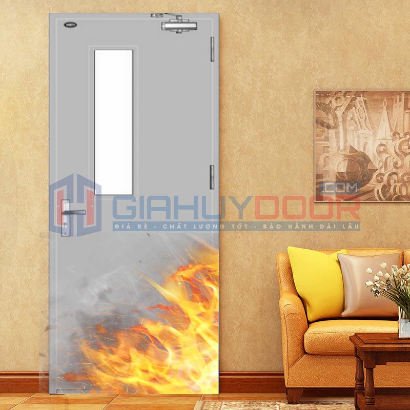 Cửa thép chống cháy là một trong những sản phẩm được thiết kế nhằm ngăn cháy lan