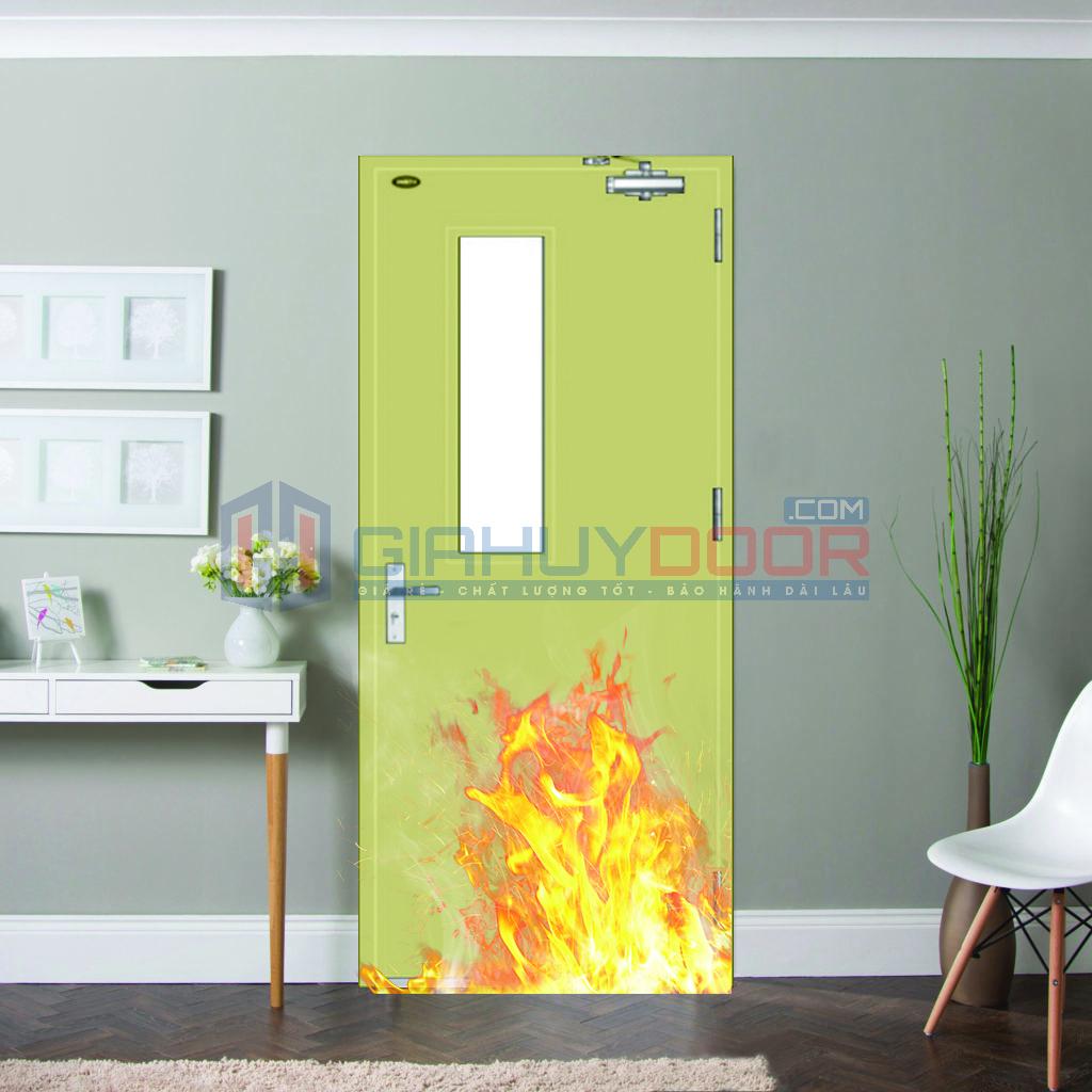 Tìm hiểu cửa thép chống cháy