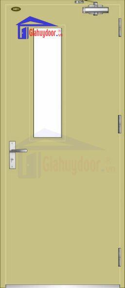 Cửa thép chống cháy TCC.P1G1-1-C2