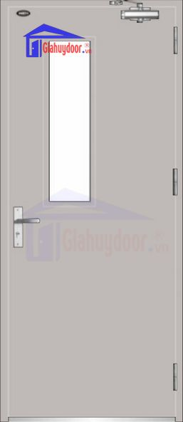 Cửa thép chống cháy TCC.P1G1-1-C3