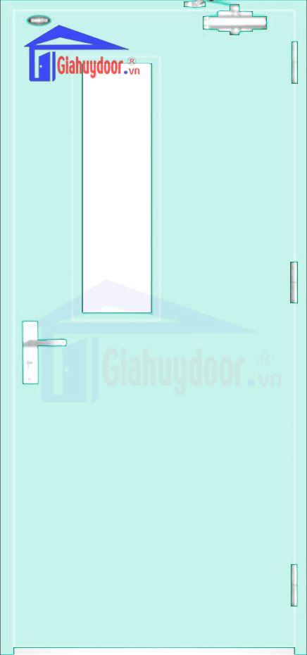 Cửa thép chống cháy TCC.P1G1-1-C5