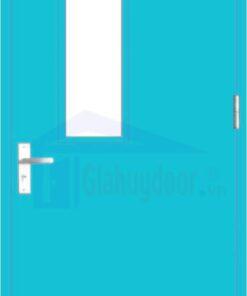 Cửa thép chống cháy TCC.P1G1-1-C7