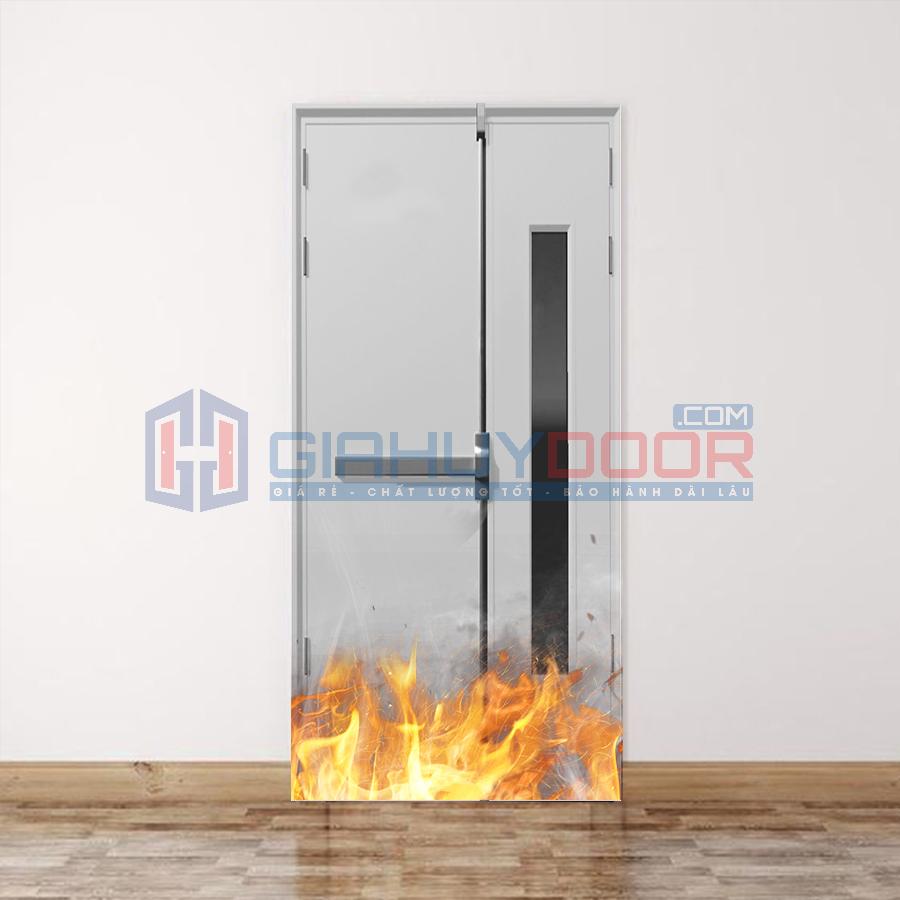Mẫu cửa thép chống cháy cao cấp