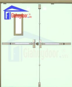 Cửa thép chống cháy TCC.P3-G1-C5
