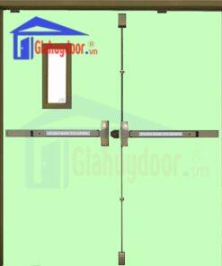 Cửa thép chống cháy TCC.P3-G1-C6