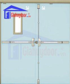 Cửa thép chống cháy TCC.P3-G1-C7