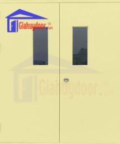 Cửa thép chống cháy TCC.P3G2-C2