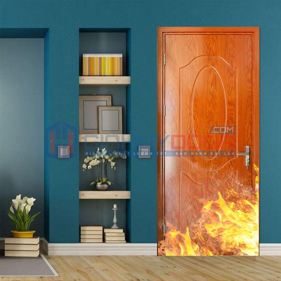 Mẫu cửa chống cháy 01