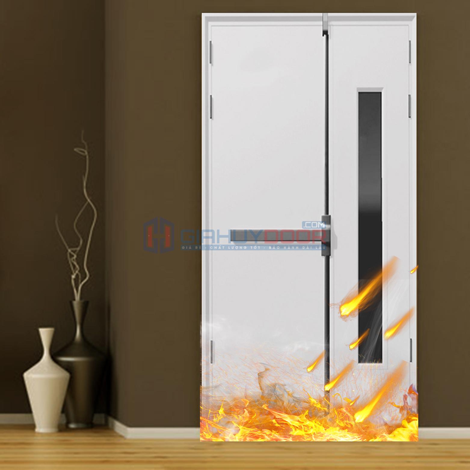 Cửa chống cháy là gì?