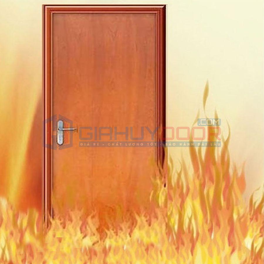 Cửa gỗ chống cháy tại Bình Dương bền đẹp chất lượng cao tại Giahuy door