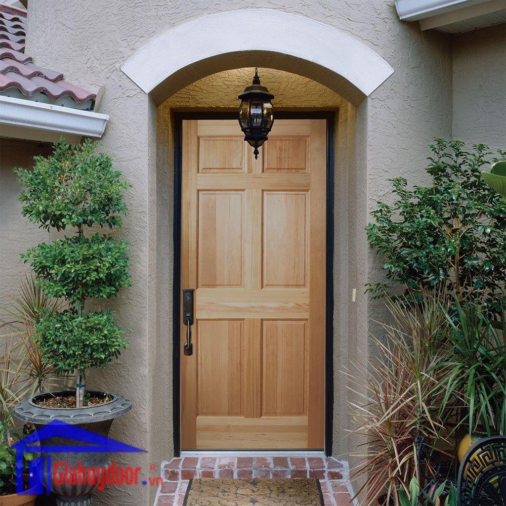 thiết kế cửa gỗ tự nhiên đẹp