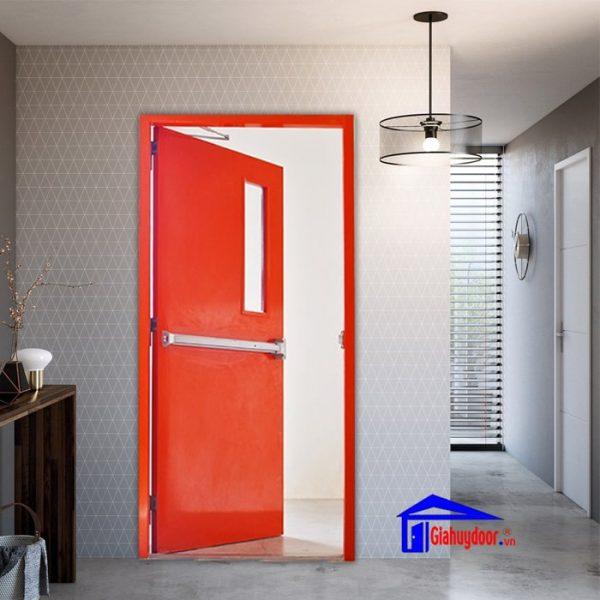 kích thước cửa thép chống cháy