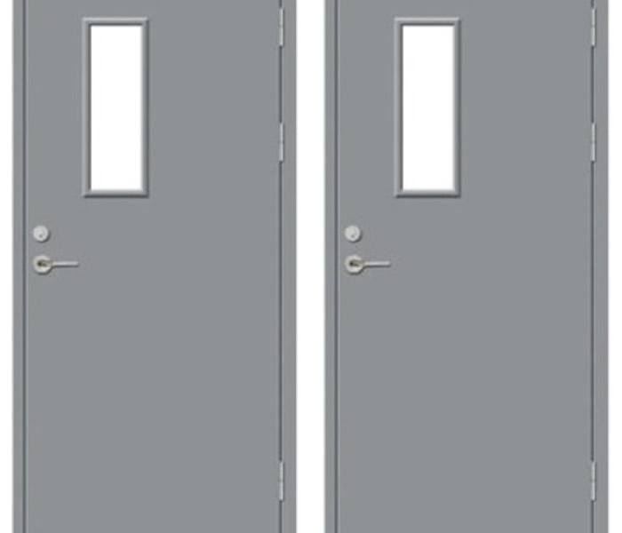 Cửa thép chống cháy - Sự lựa chọn hoàn hảo cho công trình