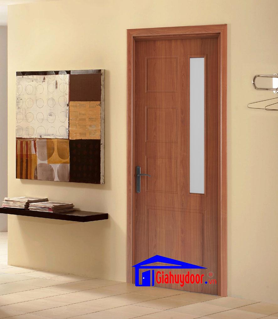 Cửa gỗ công nghiệp hdf veneer 1