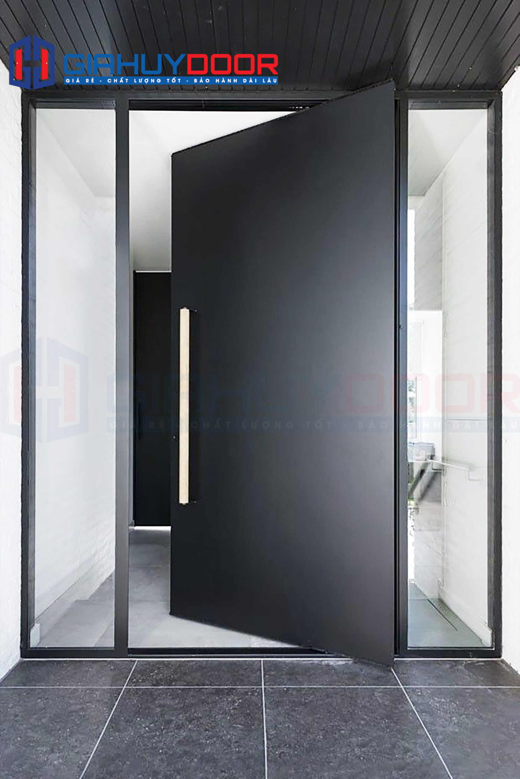 Lựa chọn hướng mở cửa vào trong phù hợp phong thuỷ cho cửa chính căn nhà