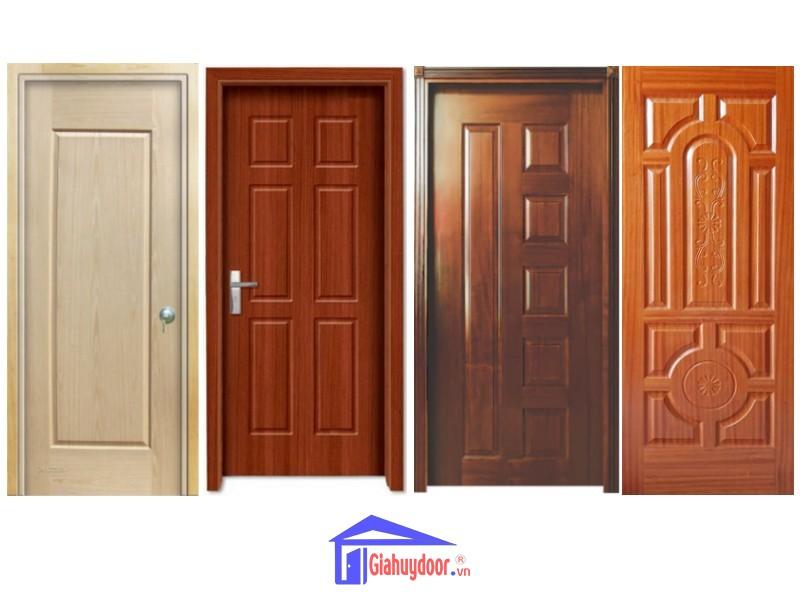 Mẫu cửa gỗ công nghiệp HDF tại Gia Huy Door