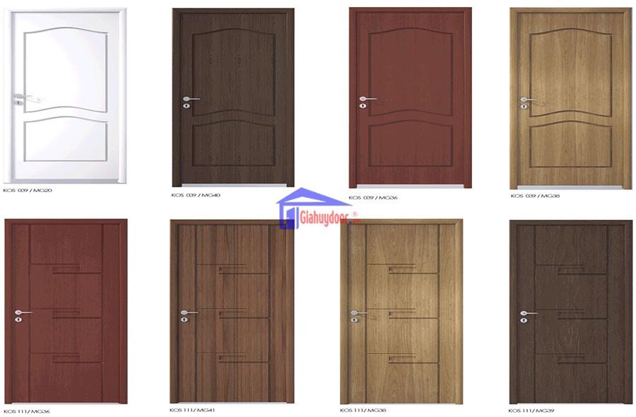 Vật liệu cửa nhựa Composite - Yếu tố quyết định chất lượng cửa composite