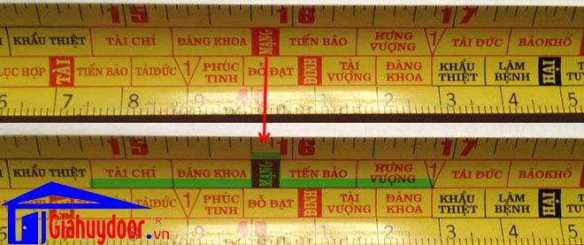 Cách Sử Dụng Thước Lỗ Ban - giahuydoor.vn - 0886.500.500